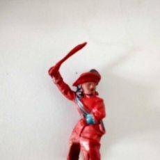Figuras de Goma y PVC: FIGURA MOSQUETERO LAFREDO GOMA AÑOS 50. Lote 273971028