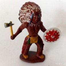 Figuras de Goma y PVC: FIGURA INDIO SOTORRES. Lote 273971833
