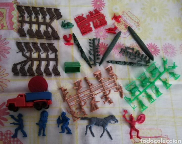 LOTE MONTAPLEX (Juguetes - Figuras de Goma y Pvc - Montaplex)