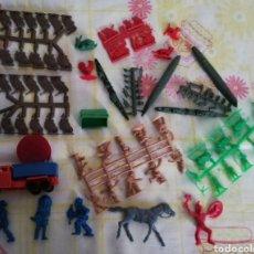 Figuras de Goma y PVC: LOTE MONTAPLEX. Lote 274009253