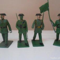 Figuras de Goma y PVC: LOTE 8 FIGURAS REAMSA DE LA GUARDIA CIVIL BENEMERITA FIGURE FIGURA POLICIA POLICE ALFREEDOM. Lote 274237838