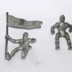 Figuras de Goma y PVC: 6 SOLDADOS CABALLEROS MEDIEVALES, PEQUEÑO TAMAÑO, MIDEN UNOS 5,5 CMS.. Lote 274271898