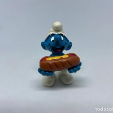 Figure di Gomma e PVC: PITUFO CON PERRITO CALIENTE - SCHLEICH. Lote 274406663