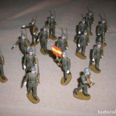 Figuras de Goma y PVC: TEIXIDO - 15 SOLDADOS ANOS 70 - REAMSA JECSAN LAFREDO - ENVIO GRATIS. Lote 274635093