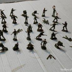 Figuras de Goma y PVC: FIGURAS EKO INFANTERÍA LOTE 30 PINTADOS A MANO. Lote 274662128