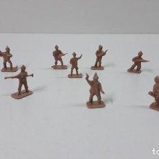 Figuras de Goma y PVC: LOTE DE SOLDADITOS MONTAPLEX . BRITANICOS . AÑOS 70 / 80. Lote 274839853