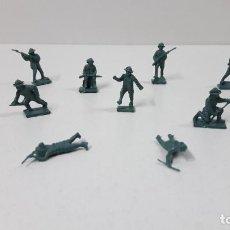 Figuras de Goma y PVC: LOTE DE SOLDADITOS MONTAPLEX . AUSTRALIANOS . AÑOS 70 / 80. Lote 274840078