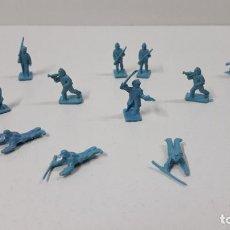 Figuras de Goma y PVC: LOTE DE SOLDADITOS MONTAPLEX - SOLDADOS DEL NORTE . AÑOS 70 / 80. Lote 274840163