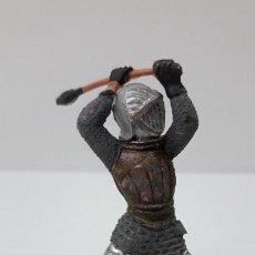 Figuras de Goma y PVC: GUERRERO MEDIEVAL . FIGURA REAMSA Nº 120 . SERIE TORNEO REAL . ORIGINAL AÑOS 60. Lote 274848793