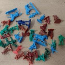 Figuras de Goma y PVC: MONTAPLEX LOTE. Lote 274855773