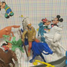 Figuras de Goma y PVC: LOTE INDIOS. Lote 274883028