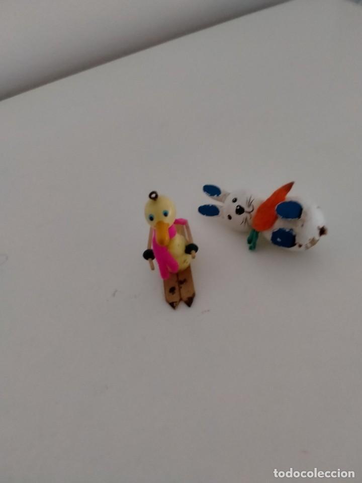 Figuras de Goma y PVC: Figuras madera Goula - Foto 3 - 275218258