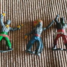 Figuras de Goma y PVC: FIGURAS GOMA LAFREDO PECH REAMSA JECSAN. Lote 275510033