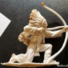 Figuras de Goma y PVC: FIGURA INDIO COMANSI. Lote 275543253