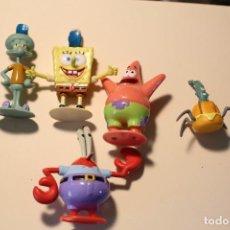 Figuras de Goma y PVC: LOTE PERSONAJES BOB ESPONJA VIACOM 2011 VER FOTOS. Lote 275552738