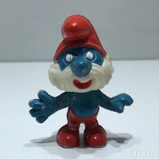 Figuras de Goma y PVC: PAPA PITUFO - MARCA BULLY PEYO - AÑOS 70/80. Lote 275580688