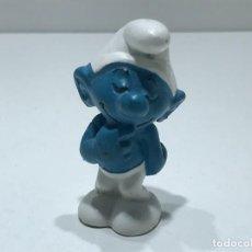 Figuras de Goma y PVC: PITUFO TIMIDO - MARCA BULLY PEYO - AÑOS 70/80. Lote 275581013