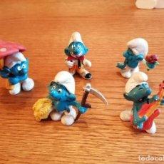 Figuras de Goma y PVC: LOTE DE PITUFOS (COMANSI, REYGON, SOTORRES, LAFREDO, JECSAN ETC). Lote 275606813