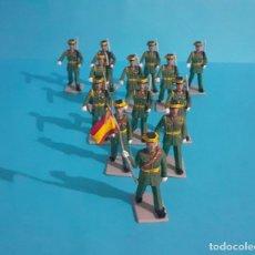 Figuras de Goma y PVC: LOTE DE 13 GUARDIA CIVIL EN GOMA. TIPO REAMSA, PECH ,COMANSI, LAFREDO.... Lote 275619133