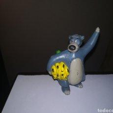 Figuras de Goma y PVC: WALT DISNEY FIGURA DE PVC AÑOS 80 COMICS SPAIN BALOO EL LIBRO DE LA SELVA. Lote 275622128