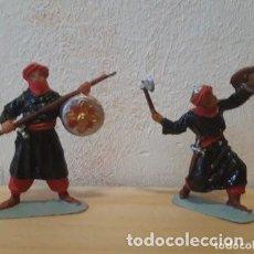 Figuras de Goma y PVC: SOLDADOS DE PLASTICO SARRACENOS JECSAN NUEVOS. Lote 275552408