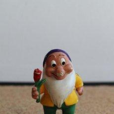 Figuras de Goma y PVC: MUÑECO DE GOMA. BLANCANIEVES. COMICS SPAIN. ENANITO.. Lote 275860208