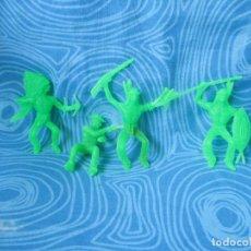 Figuras de Goma y PVC: LOTE INDIOS Y VAQUEROS. Lote 275989403