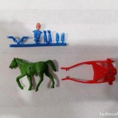 Figuras de Goma y PVC: MONTAPLEX-CUADRIGA DE CARRERAS - PERTENECE AL SOBRE Nº 54 DE MONTAMAN. ESJUSA AÑOS 80 PARA MONTAPLEX. Lote 276013968