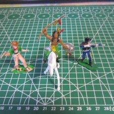 Figuras de Goma y PVC: FIGURAS DE VAQUEROS E INDIOS DE COMANSI / ,PECH, JECSAN, STARLUX. Lote 276035543