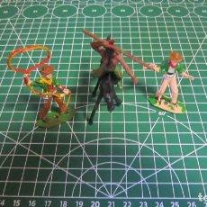 Figuras de Goma y PVC: FIGURAS DE VAQUEROS E INDIOS DE COMANSI / ,PECH, JECSAN, STARLUX. Lote 276036123