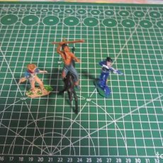 Figuras de Goma y PVC: FIGURAS DE VAQUEROS E INDIOS DE COMANSI / ,PECH, JECSAN, STARLUX. Lote 276036303