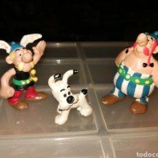 Figuras de Goma y PVC: FIGURAS PVC ASTERIX OBELIX PERRO IDEAFIX. Lote 276085878