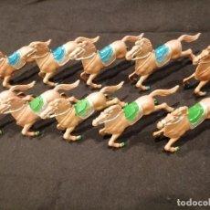 Figuras de Goma y PVC: LOTE DE CABALLOS - LAFREDO. Lote 276118158