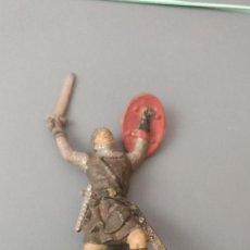 Figuras de Goma y PVC: FIGURA MEDIEVAL, TORRE DE ASALTO, GOMA , REAMSA, JECSAN ,ORIGINAL AÑOS 50-60-BUENA CONSERVACION. Lote 276372708