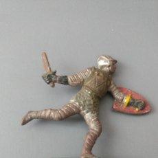 Figuras de Goma y PVC: FIGURA MEDIEVAL, GOMA , REAMSA, JECSAN ,ORIGINAL AÑOS 50-60-BUENA CONSERVACION. Lote 276374713