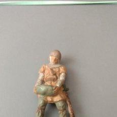 Figuras de Goma y PVC: FIGURA MEDIEVAL, TORRE DE ASALTO, GOMA , REAMSA, JECSAN ,ORIGINAL AÑOS 50-60-BUENA CONSERVACION. Lote 276376898