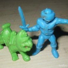 Figuras de Goma y PVC: DOS FIGURA MASTERS DEL UNIVERSO DE DUNKIN. Lote 276396588
