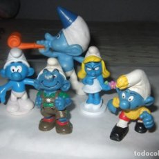 Figuras de Goma y PVC: LOTE FIGURA PITUFOS VARIAS MARCAS Y AÑOS - GOMA PVC. Lote 276423733