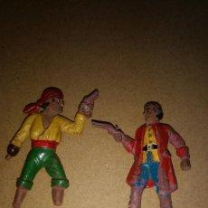 Figuras de Goma y PVC: LOTE 2 FIGURAS DE REAMSA EN GOMA AÑOS 50-. Lote 276563068