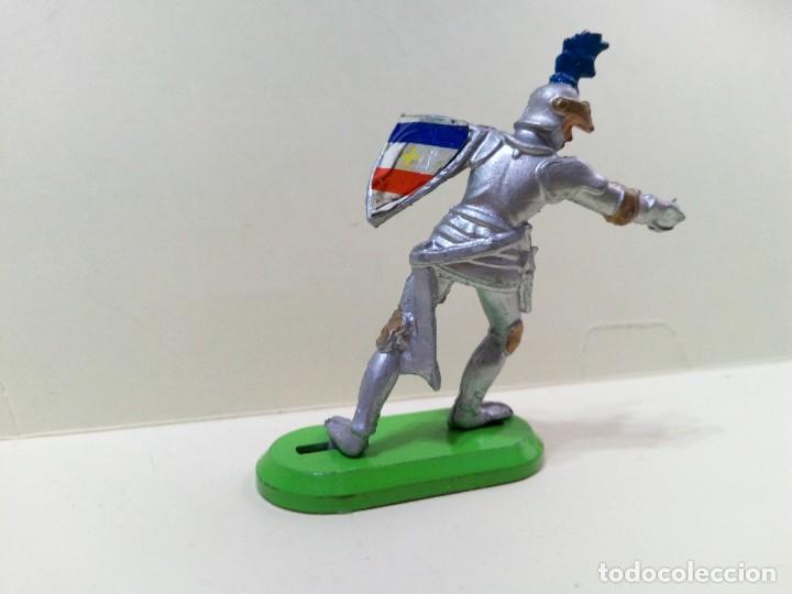 """Figuras de Goma y PVC: LOTE """" M2 """" DE 3 FIGURAS MEDIEVALES.BRITAINS DEETAIL 1971 - Foto 4 - 276573948"""