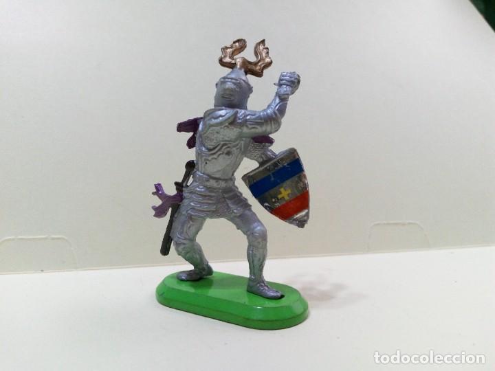"""Figuras de Goma y PVC: LOTE """" M2 """" DE 3 FIGURAS MEDIEVALES.BRITAINS DEETAIL 1971 - Foto 7 - 276573948"""