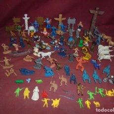 Figuras de Goma y PVC: MAGNIFICO LOTE VARIADO DE JUGUETES ANTIGUOS. Lote 276682173
