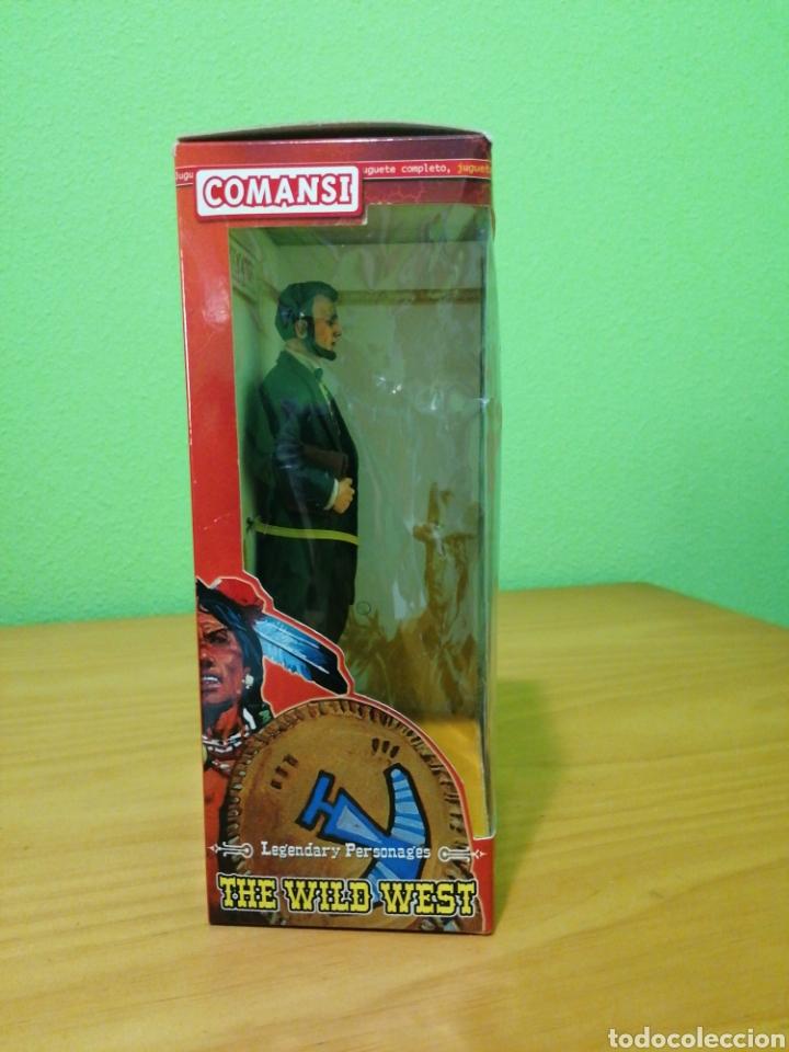 Figuras de Goma y PVC: Magnífica figura de 17 cms de alto de la colección de Wild west comansi. Abraham Lincoln - Foto 3 - 276728613
