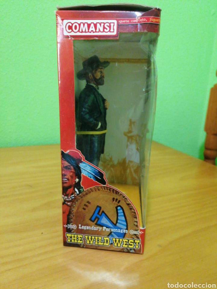 Figuras de Goma y PVC: Magnífica figura de 17 cms de alto de la colección de Wild west comansi. General Grant - Foto 3 - 276729358