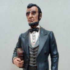 Figuras de Goma y PVC: COMANSI FIGURA WILD WEST DE ABRAHAM LINCOLN,EN BUEN ESTADO.. Lote 276819123