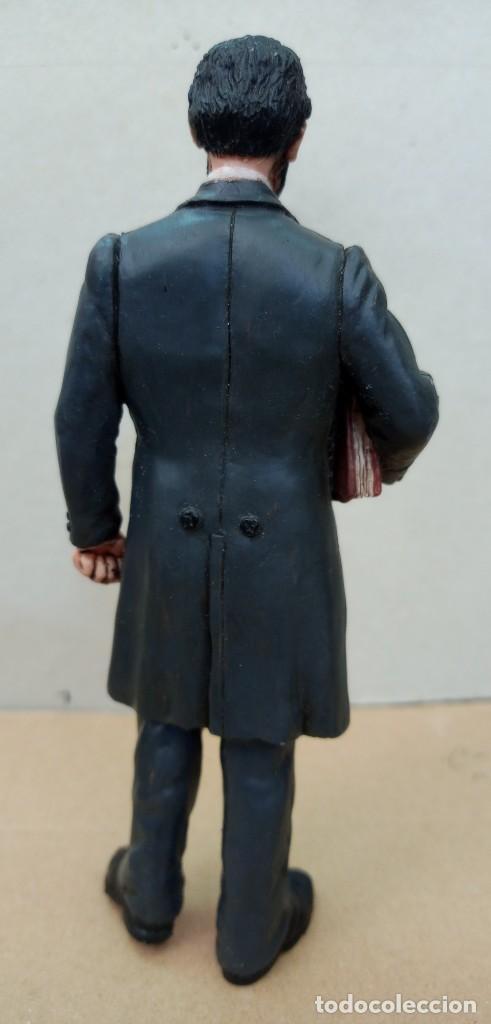 Figuras de Goma y PVC: Comansi figura Wild West de Abraham Lincoln,en buen estado. - Foto 3 - 276819123