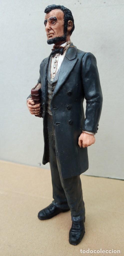 Figuras de Goma y PVC: Comansi figura Wild West de Abraham Lincoln,en buen estado. - Foto 6 - 276819123