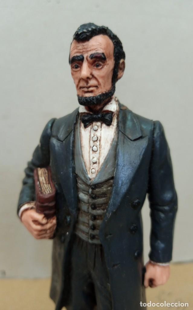 Figuras de Goma y PVC: Comansi figura Wild West de Abraham Lincoln,en buen estado. - Foto 7 - 276819123