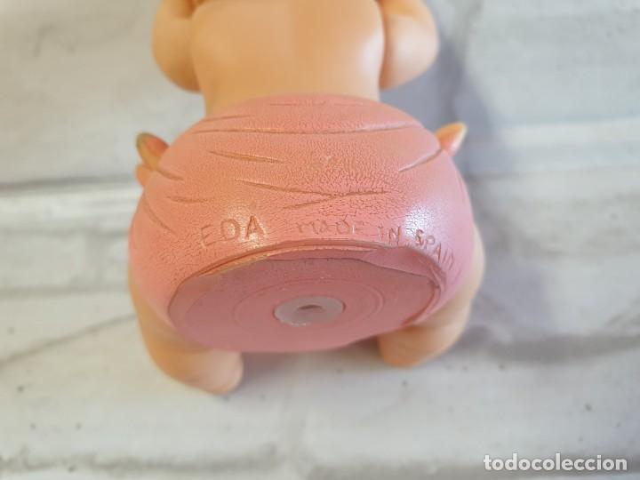 Figuras de Goma y PVC: Antiguo Bebé de goma de brazos articulados de la casa EDA. - Foto 9 - 276912413