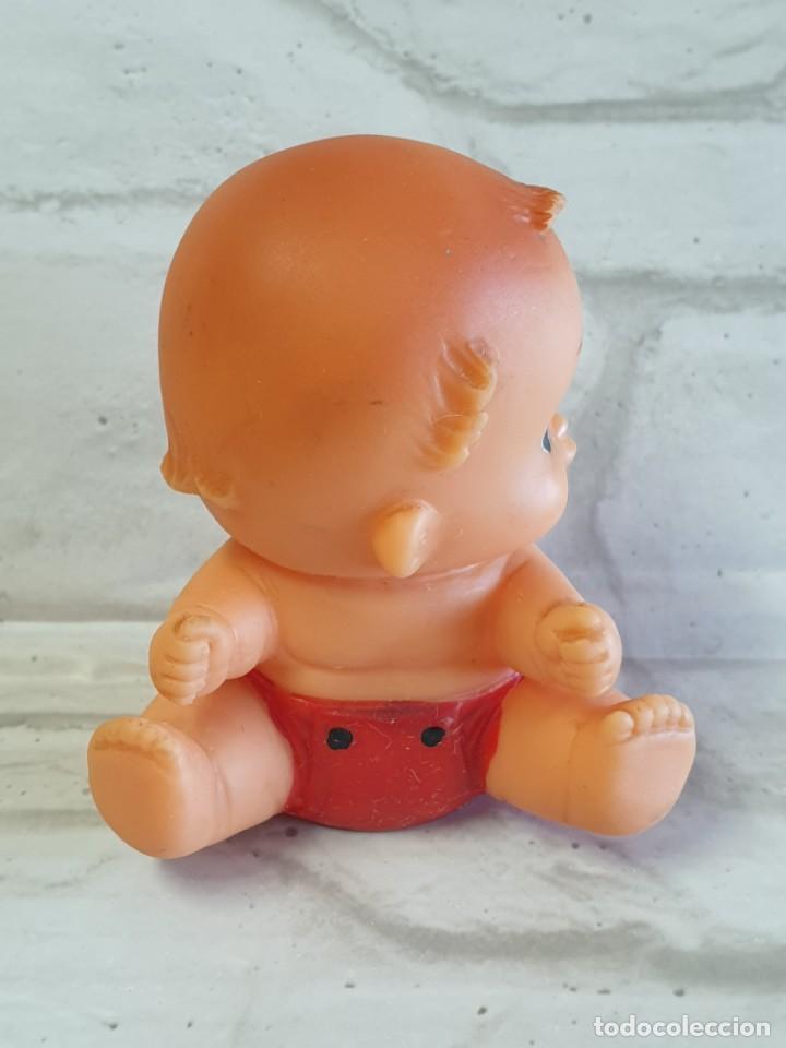 Figuras de Goma y PVC: Antiguo Bebé de goma. - Foto 5 - 276912988